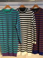 STUSSY WOMEN Stüssy Stripe Sweater Dress