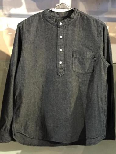 STUSSY Pop Over Chambray Shirt