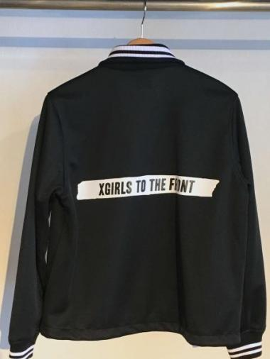 X-girl TAILORED TRACK JACKET