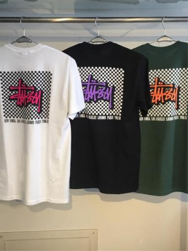 STUSSY Checkers Tee