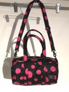 X-girl×草間彌生×PORTER KUSAMA YAYOI 2WAY BOSTON BAG