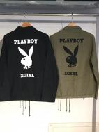 X-girl×PLAYBOY BDU JACKET