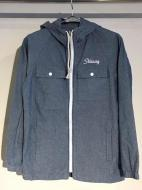 STUSSY Chambray Hood Jacket