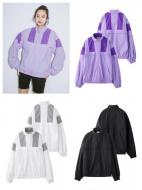 X-girl COLORBLOCK ZIP UP JACKET