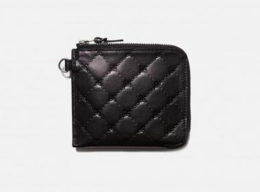 BAL/PORTER® QUILTED LEATHER THIN WALLET