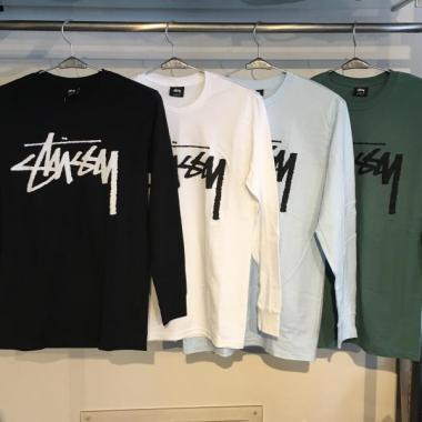 STUSSY Old Stock L/SL Tee