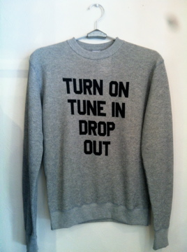 TILT TIMOSY VINTAGE CREW NECK SWEAT