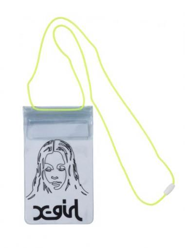 X-girl FACE WATER PROOF POUCH