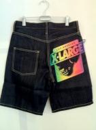 XLARGE OG FLIP PRINTED DENIM SHORTS