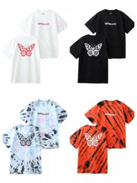 X-girl BUTTERFLY S/S TEE