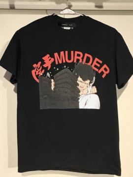 LONELY 論理 KARATE MURDER T-SHIRTS
