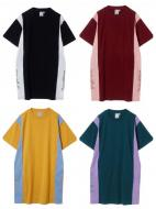 X-girl COLOR BLOCK S/S TEE DRESS