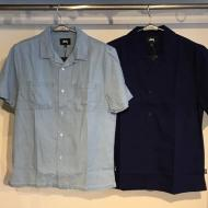 STUSSY Open Collar Shirt