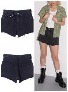 X-girl CUT OFF DENIM SHORT PANTS