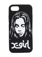 X-girl FACE SILICON MOBILE CASE FOR IPHONE6/6S/7/8