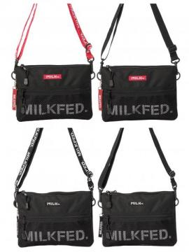 MILKFED. 2WAY MESH POCKET SACOCHE BAR