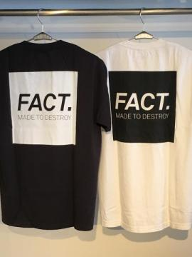 FACT. Box Logo S/S TEE