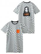 X-girl CHECKERED FACE S/S TEE DRESS
