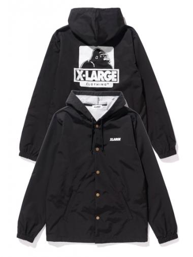 XLARGE HOODED OG COACHES JACKET