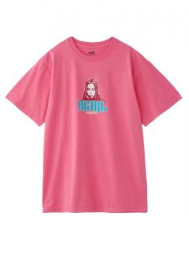 X-girl COLOR FACE S/S TEE
