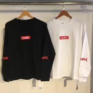 X-girl BOX LOGO L/S REGULAR TEE