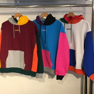 X-girl CRAZY COLOR SWEAT HOODIE