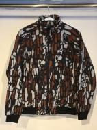 STUSSY TREE BARK FLEECE JACKET