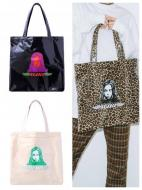 X-girl ANGEL FACE TOTE BAG