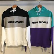 X-girl Sports PULLOVER SWEAT HOOD PANEL