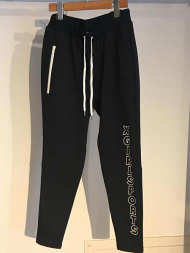 X-girl Sports SWEAT PANTS LOGO PRINT