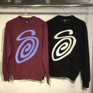 STUSSY Curly S Sweater