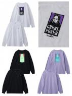 X-girl GRRRL POWER L/S TEE