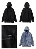 X-girl DENIM BIG BLOUSON