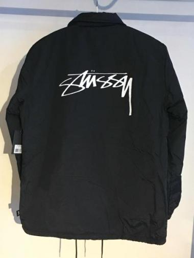 STUSSY Smooth Stock Coach Jacket